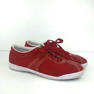 Easy Spirit Anti-Gravity Canvas Sneakers Red  8